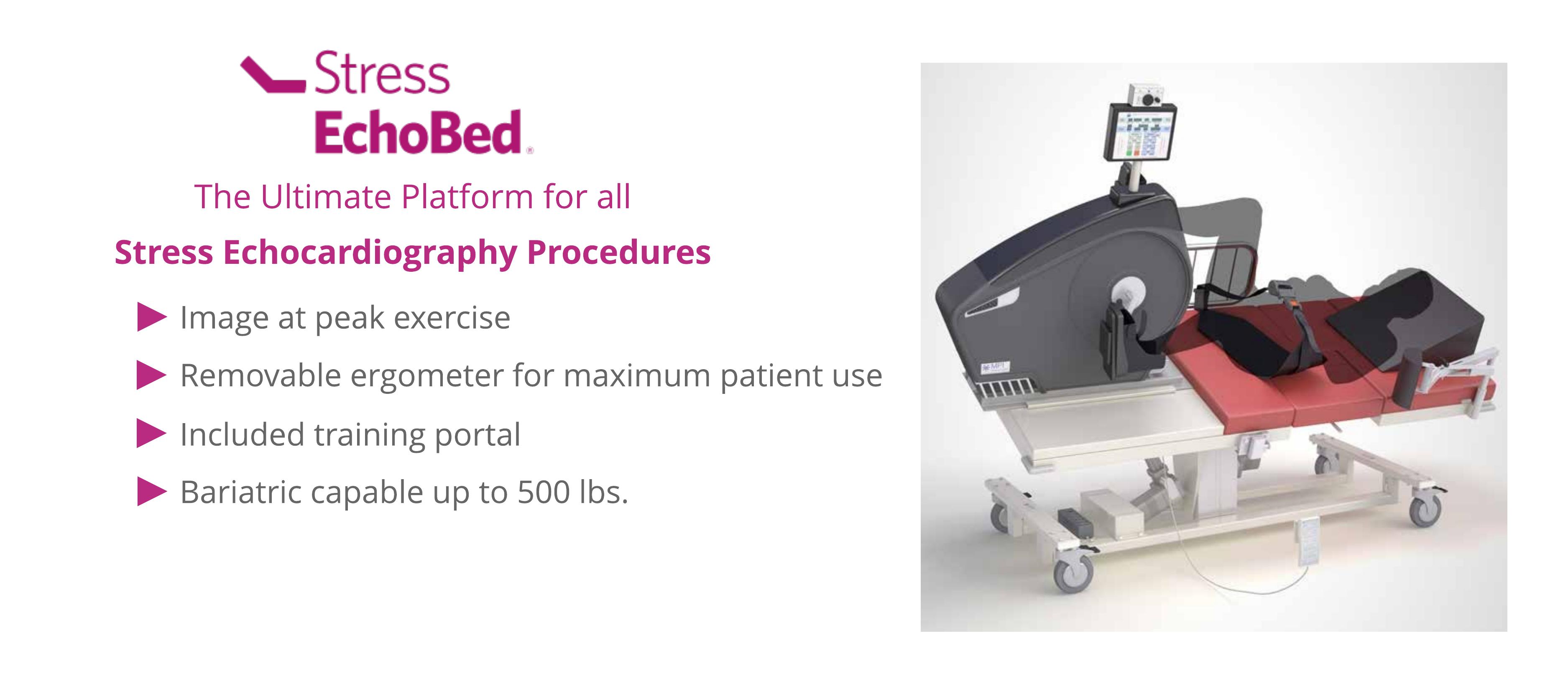 A platform for stress echocardiography procedures